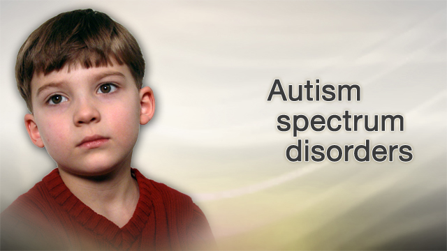 <div class=media-desc><strong>Autism spectrum disorders</strong><p>Autism is a developmental problem that often becomes noticeable during the toddler years, though it may start earlier. It's significantly more common in premature babies. We know it has to do with abnormal brain biology or chemicals, although the precise mechanism hasn't yet been worked out. Autism appears to be linked both to genes and environmental exposures.</p></div>