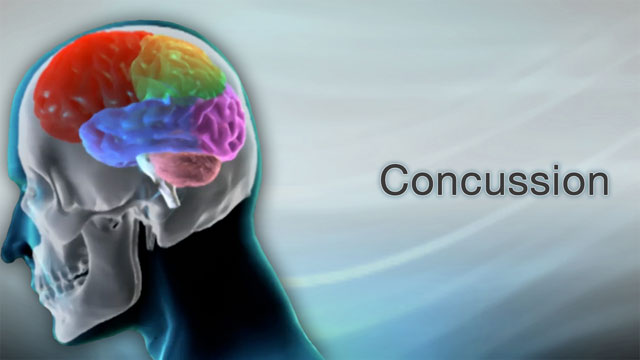 <div class=media-desc><strong>Concussion</strong><p>So, what causes a concussion? Your brain is a delicate organ encased in bone, your skull. When you fall down, suffer violent contact during a sports activity, or hit your head in a car accident, your brain moves but has nowhere to go. Instead, it swirls around inside your head and bumps into your skull. This causes bruising that damages your brain. </p></div>