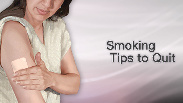 <div class=media-desc><strong>Smoking tips to quit</strong><p>You probably know by now that smoking damages your lungs, raising your risk for bronchitis, emphysema, and lung cancer. And, you're probably well aware that lighting up also puts you at risk for many different types of cancers, as well as eye disease like cataracts and premature wrinkles, you know why you shouldn't smoke, it's just the quitting part you can't seem to get past. Let's talk about some helpful tips to help you quit smoking, for good this time. It's a familiar story, one that plays out over and over again among smokers. You vow to quit, and you have every intention of doing it, and then the cravings hit. And you can't think about anything but having a cigarette. You get irritable, and you start putting on weight. You think, Just one cigarette wouldn't hurt, would it? And then, before you know it, you're smoking again. Most smokers have tried to quit, and failed, several times. Even if you've failed before, you can still succeed at quitting. Many people have. You just need to find the technique that works for you. So, here are a few tips that can help. First, set a quit date. Write it down on your calendar and tell a few friends, so you'll be too embarrassed to back out. Before your quit date, throw out every cigarette in your house, car, and office. Also toss every ashtray, lighter, and anything else you need to smoke. Wash your clothes and clean your furniture so you won't have that smoky smell hanging around your house. Next, call your doctor. Ask about smoking cessation programs in your area. Also learn about tools that can help you quit, like medicines that reduce the urge to smoke, and nicotine replacement gums, lozenges, patches, and sprays. And then, plan what you'll do instead of smoking. If you smoke with your morning cup of coffee, drink tea or go for a walk instead. If you need a cigarette to keep your mouth busy, try chewing sugarless gum or nibble on a carrot stick. Stick to place